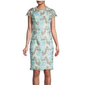 NWT Calvin Klein Floral Lace Dress